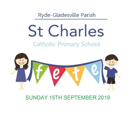 St Charles School Fete Logos 2015